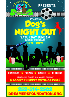2nd Annual Dog's Night Out